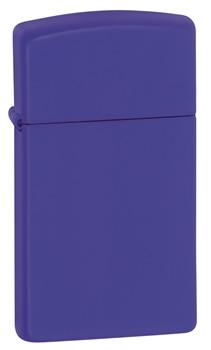 Zippo Ladies Slim Matt Purple Cigarette Lighter 16 at Cox the Saddler